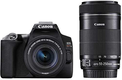 Canon デジタル一眼レフカメラ EOS Kiss X10ブラック・ダブルズームキット