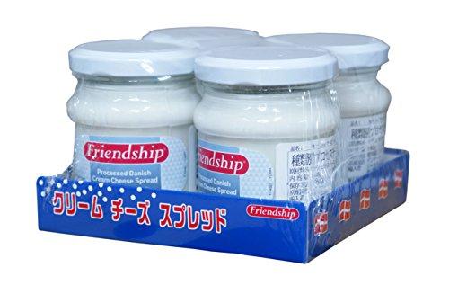 Friendship(フレンドシップ) クリームチーズ スプレッド 140g×4個 【冷蔵品】
