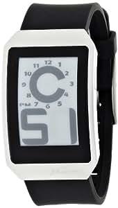 [フォスファー]PHOSPHOR 腕時計 E ink 電子ペーパーウォッチ DIGITAL HOUR SERIES W.BLACK POLY DH01 メンズ [正規輸入品]