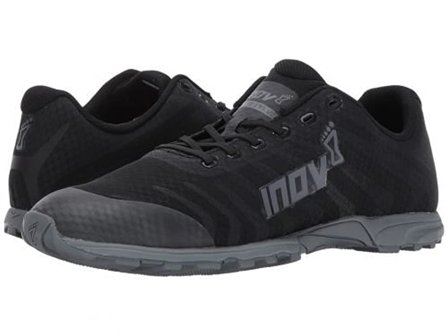 テスピアン豆腐医療のInov-8(イノヴェイト) メンズ 男性用 シューズ 靴 スニーカー 運動靴 F-Lite 195 V2 - Black/Grey [並行輸入品]