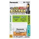 パナソニック(家電) 充電式ニッケル水素電池 BK-T407