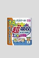【同梱不可】CT44203 エリエール超吸収キッチンタオル2ロール(70カット)×24パック