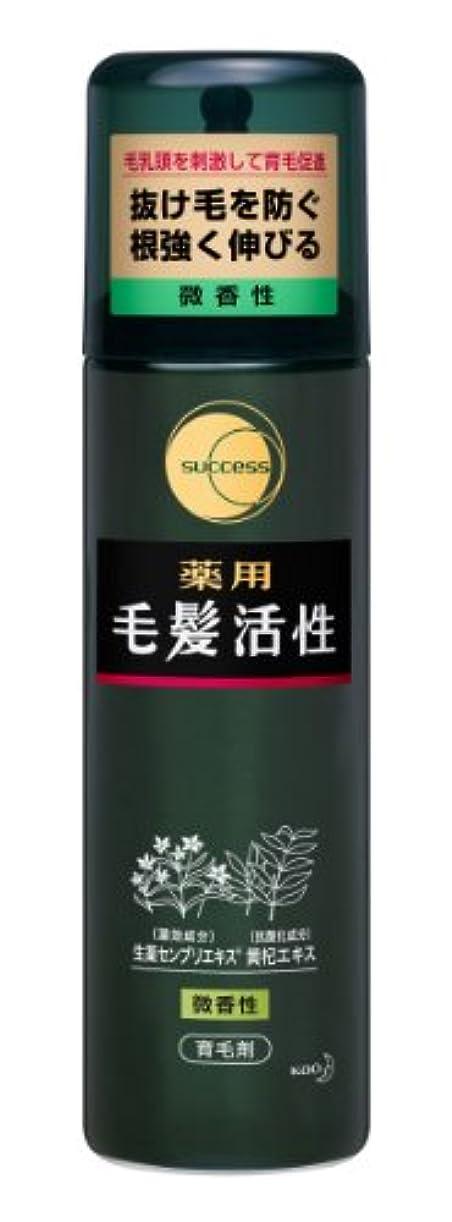 強調聖歌用心サクセス薬用毛髪活性 微香性/185g