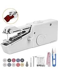 CGboom ハンディミシン 電動 ハンドミシン 片手で縫える コンパクト 電池式 家庭用 取扱説明書付き (1)