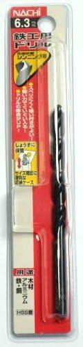 ナチ(NACHI) 鉄工用ドリル 1本入り シンニング 6.3ミリ (金属・金工)