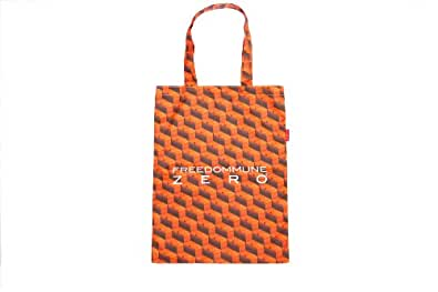 """APPLEBUM×FREE DOMMUNE ZERO""Orange Box Tote Bag"