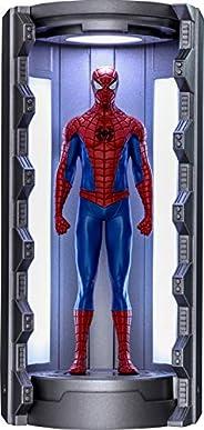 【ビデオゲーム・マスターピース COMPACT】『Marvel's Spider-Man』ミニチュア・フィギュア シリーズ1 スパイダーマン(クラシック・スーツ/スパイダースーツ格納庫付き)
