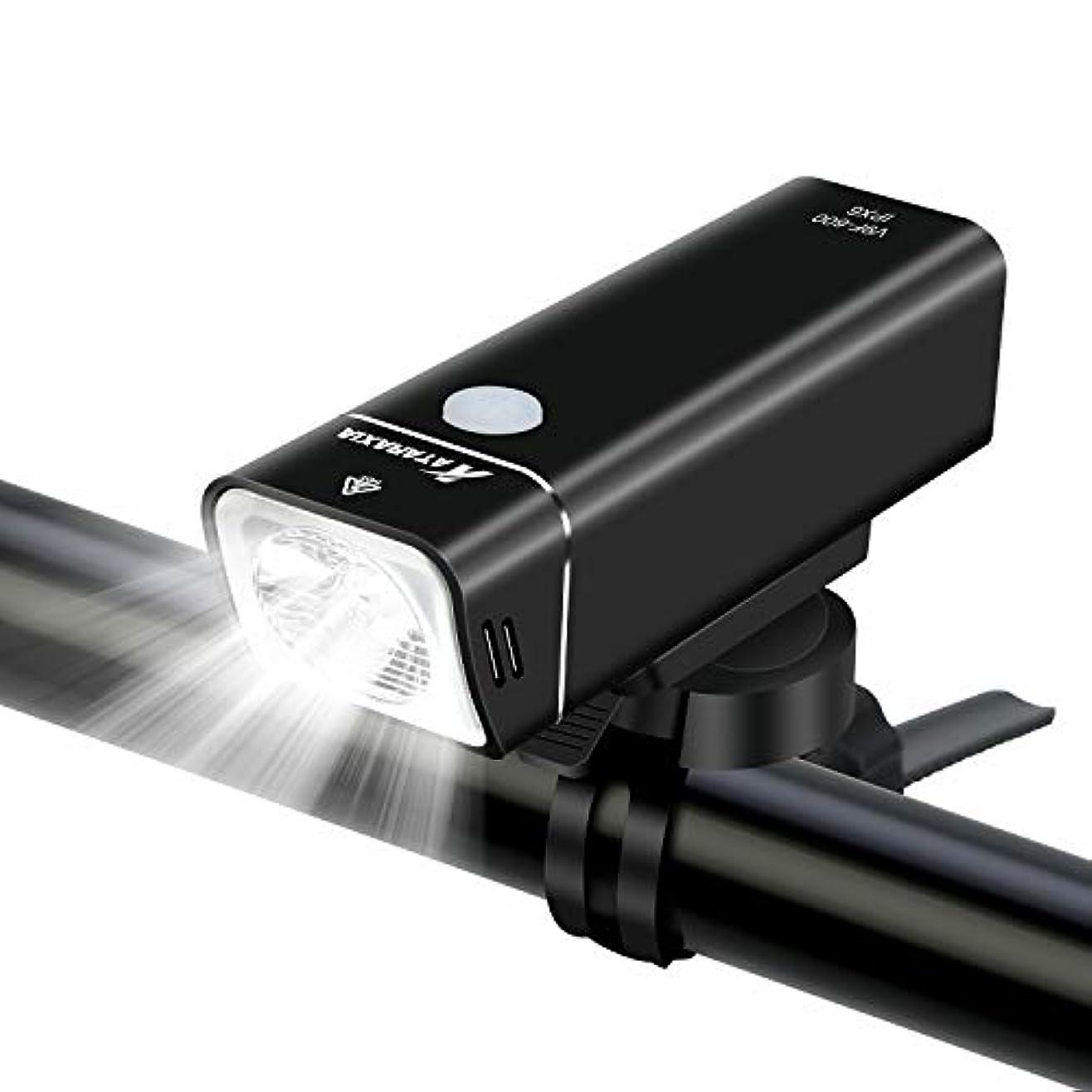 着陸へこみマイナスATARAXIA 自転車ライト 正真正銘の600ルーメン ロードバイクライト 2500mah USB充電式 IPX6防水 6063アルミニウム合金シェル 4点灯モード