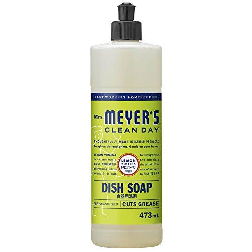 RoomClip商品情報 - ミセスマイヤーズ クリーンデイ(Mrs.Meyers Clean Day) 食器用洗剤 レモンバーベナの香り 473mL