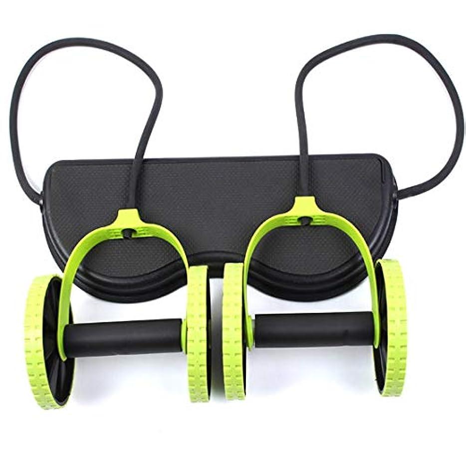 リムクランプアコードJS-04多機能腹輪腹筋ホイール腹部ホイールテンションロープ筋肉トレーニングマシン (Panda) (色:多色)