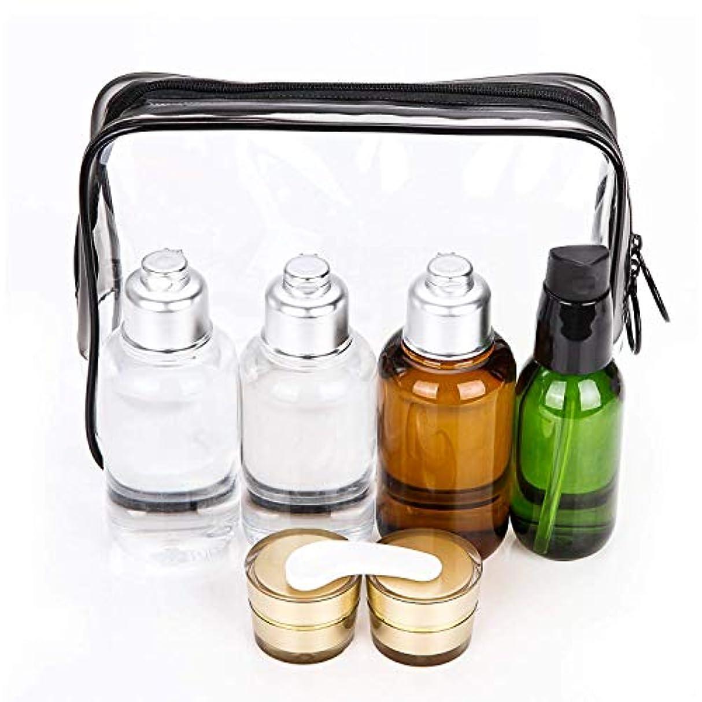 インチ単調な西部Bijou Cat トラベル用ボトル 詰替ボトル 小分けボトル 旅行携帯用容器