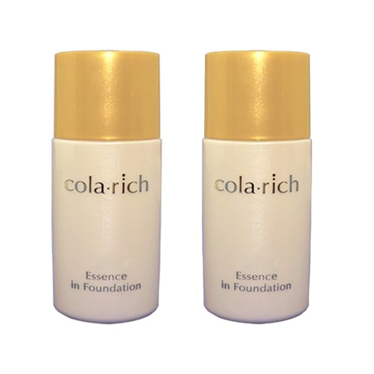 実験的ペースト柔らかさコラリッチ 美容液ファンデーション 2個まとめ買い (色白肌用)/キューサイ美容液ファンデーション