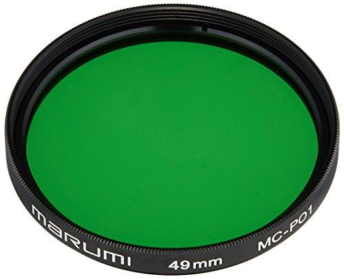 MARUMI カメラ用 フィルター MC-PO1 49mm  (緑)  モノクロ撮影用  007061