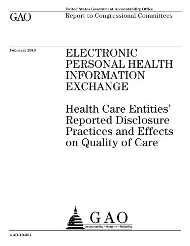 Electronic Personal Health Information E...