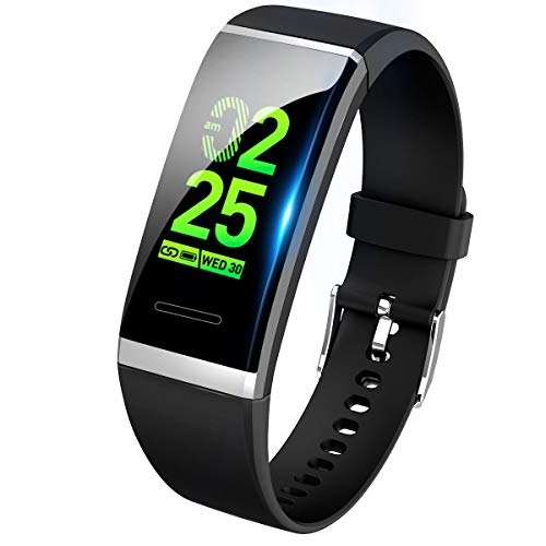 3c7834f136 【最新版】 スマートウォッチ 血圧 心拍 歩数計 スマートブレスレット カラースクリーン 活動量
