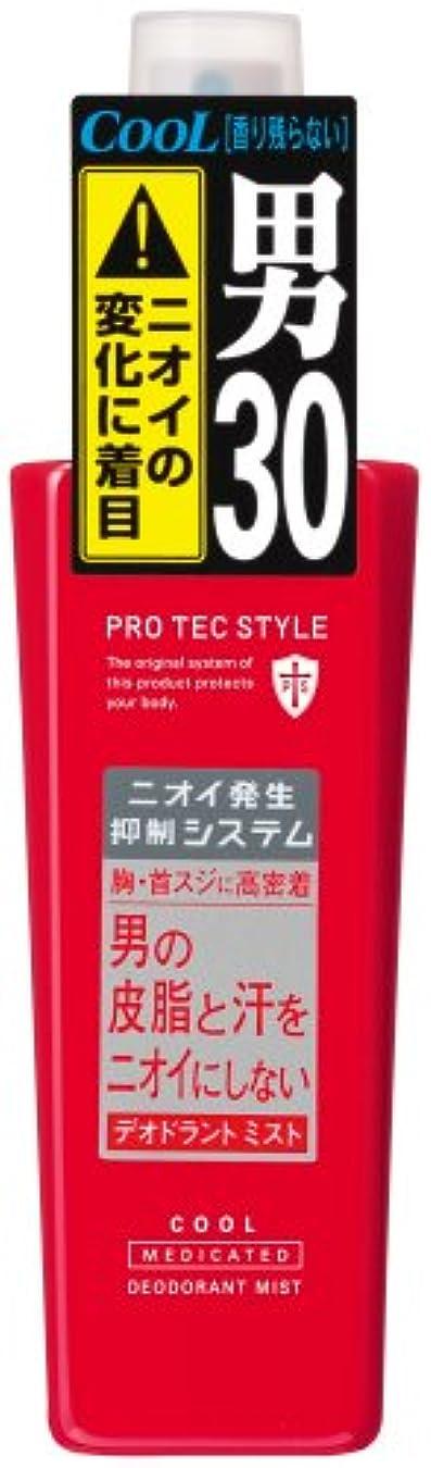 顎ふくろう影響するPRO TEC STYLE デオドラントミスト COOL 120ml