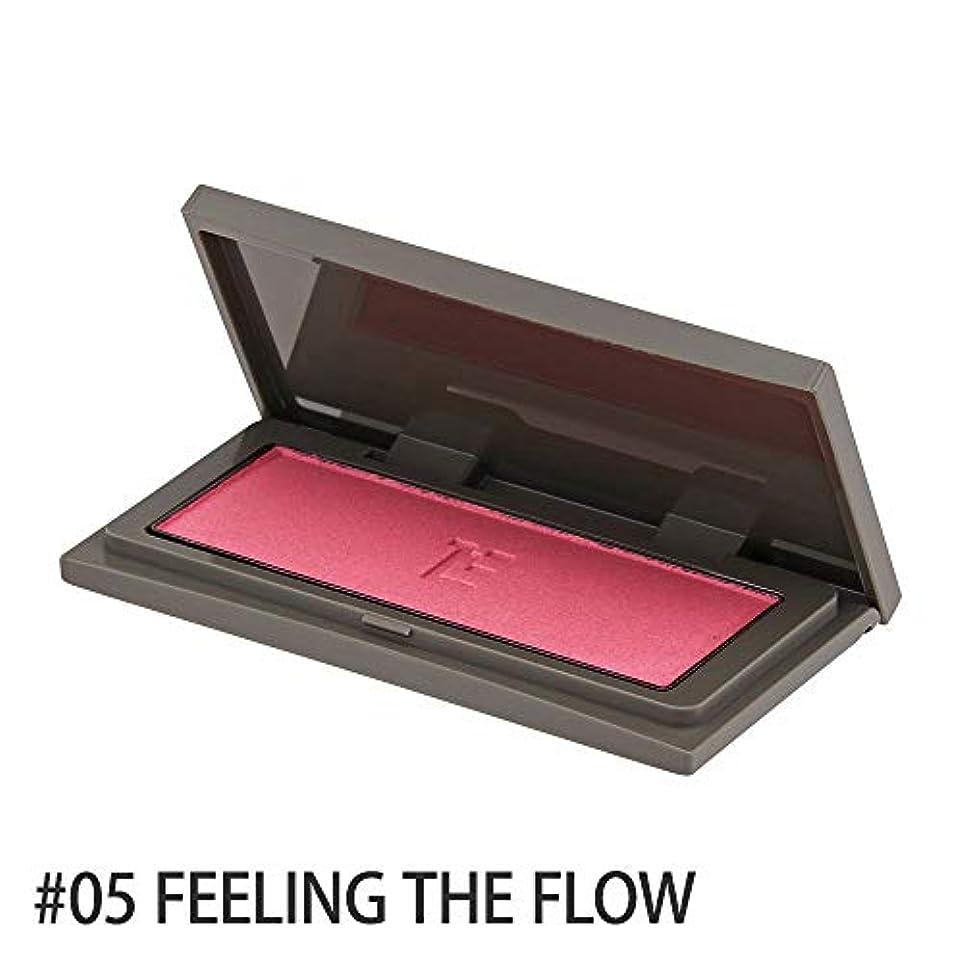 市の花アラビア語満員スリー(THREE) チーキーシークブラッシュ #05 FEELING THE FLOW[並行輸入品]