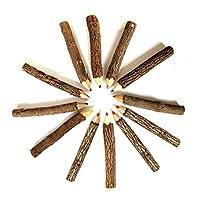 TOYANDONA 20ピース9-10センチ色の木の枝鉛筆描画用小枝鉛筆(混合色)
