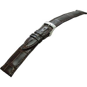 [モレラート]Morellato VOLTERRA ボルテラ 時計ベルト 18mm ダークブラウン アリゲーター時計ベルト U0856 056 030 018