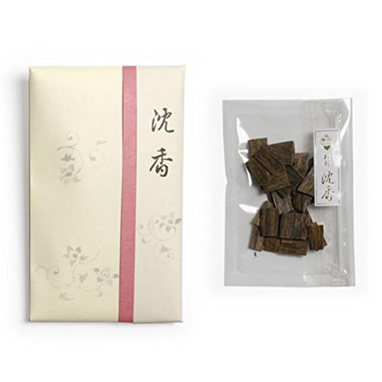 コロニー野ウサギ忠実な香木 松印 沈香 割(わり) 5g詰 松栄堂