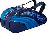 ヨネックス(YONEX) テニス用 ラケットバッグ6 (リュック付) BAG1932R ブルー/ネイビー(524)
