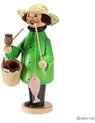 クーネルト kuhnert ミニパイプ人形香炉 釣り人