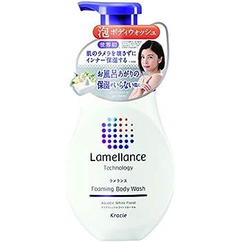 ラメランス 泡ボディウォッシュポンプ480mL(アクアティックホワイトフローラルの香り) 泡立ていらずの濃密泡