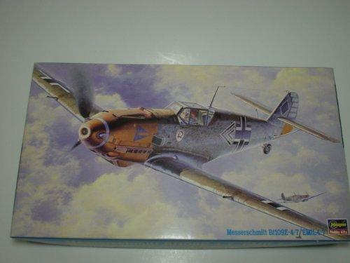 ハセガワ 1/48 メッサーシュミット BF109E-4/7 エミール4/7  JT9