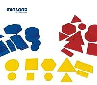 Miniland Educational 95044 Les blocs logiques (60 pi-ces) / Jar