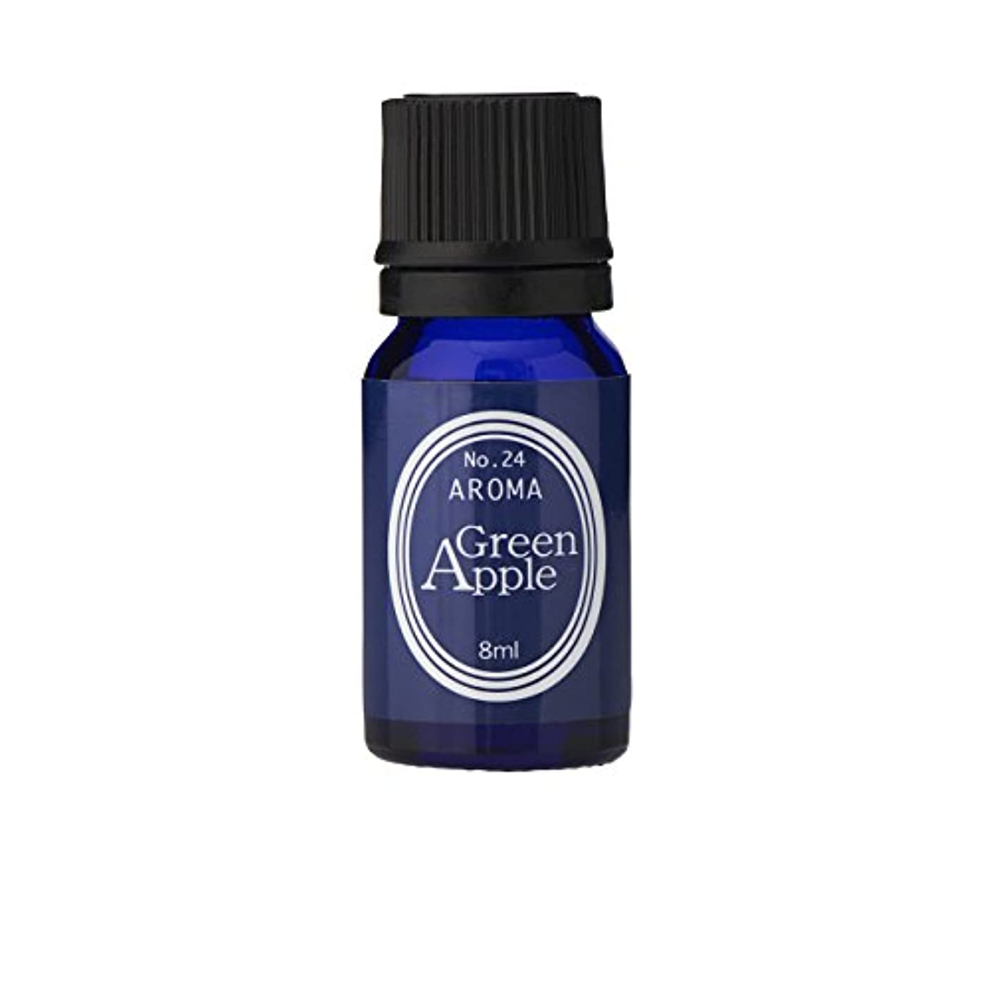 クリーク著者織るブルーラベル アロマエッセンス8ml グリーンアップル(アロマオイル 調合香料 芳香用)