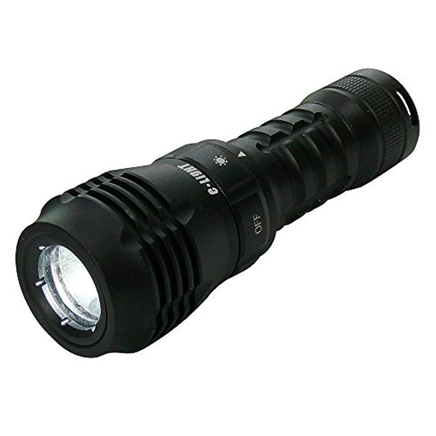 距離保険宿ダイビングライト IP68完全防水ライト ELF-01 高輝度CREE LED搭載 明るさ約300ルーメン