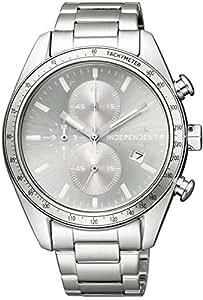 [シチズン]腕時計 INDEPENDENT インディペンデント スポーティ・クロノグラフ Timeless Line BA7-115-91 メンズ