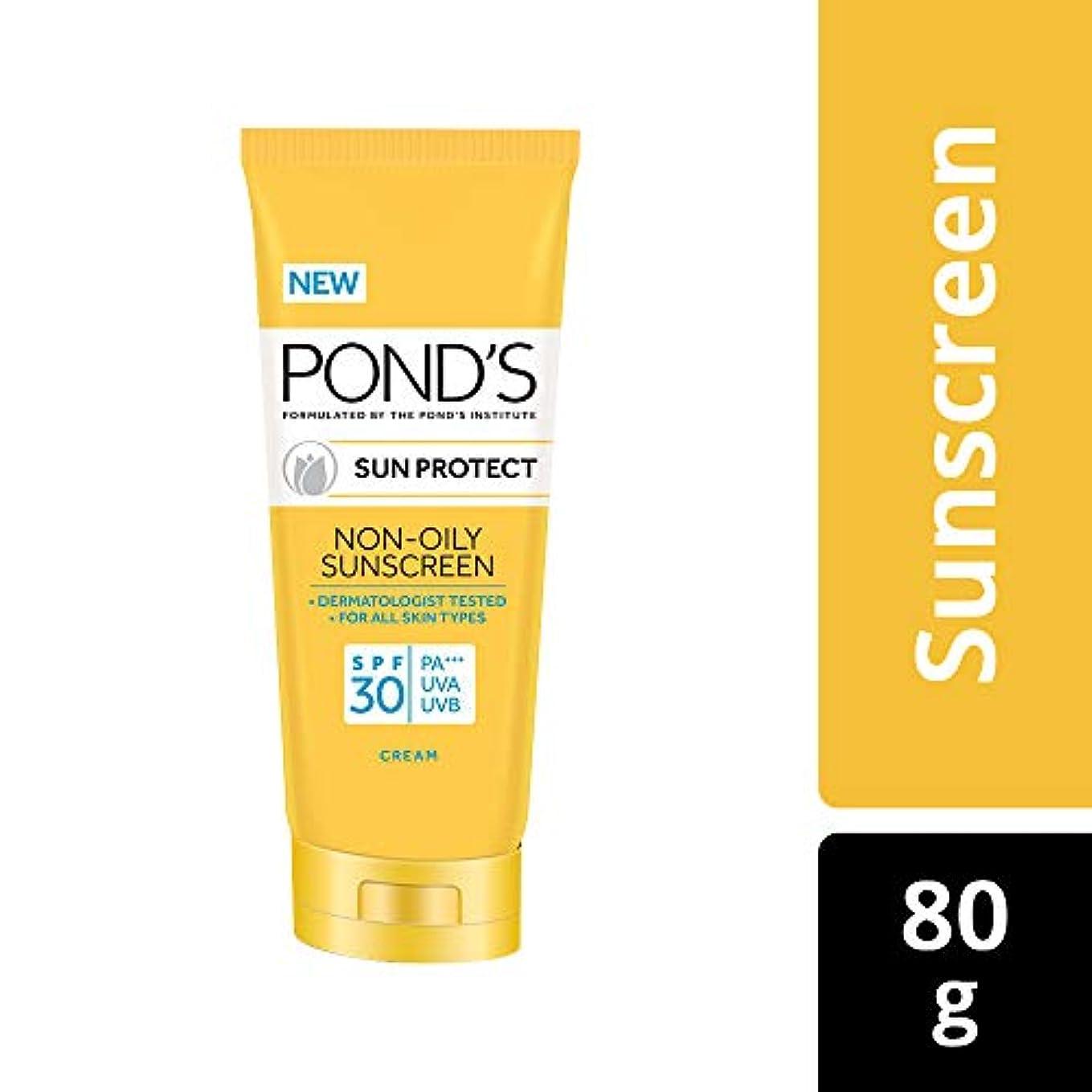 授業料エキス分析的なPOND'S Sun Protect Non-Oily Sunscreen SPF 30, 80 g