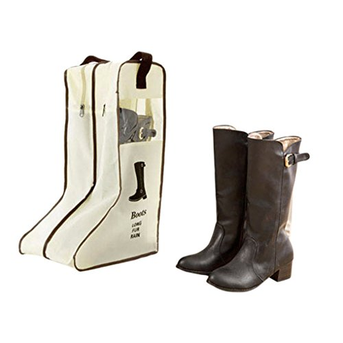 ブーツ収納袋 靴カバー ロングブーツ/ショートブーツ/レイン...