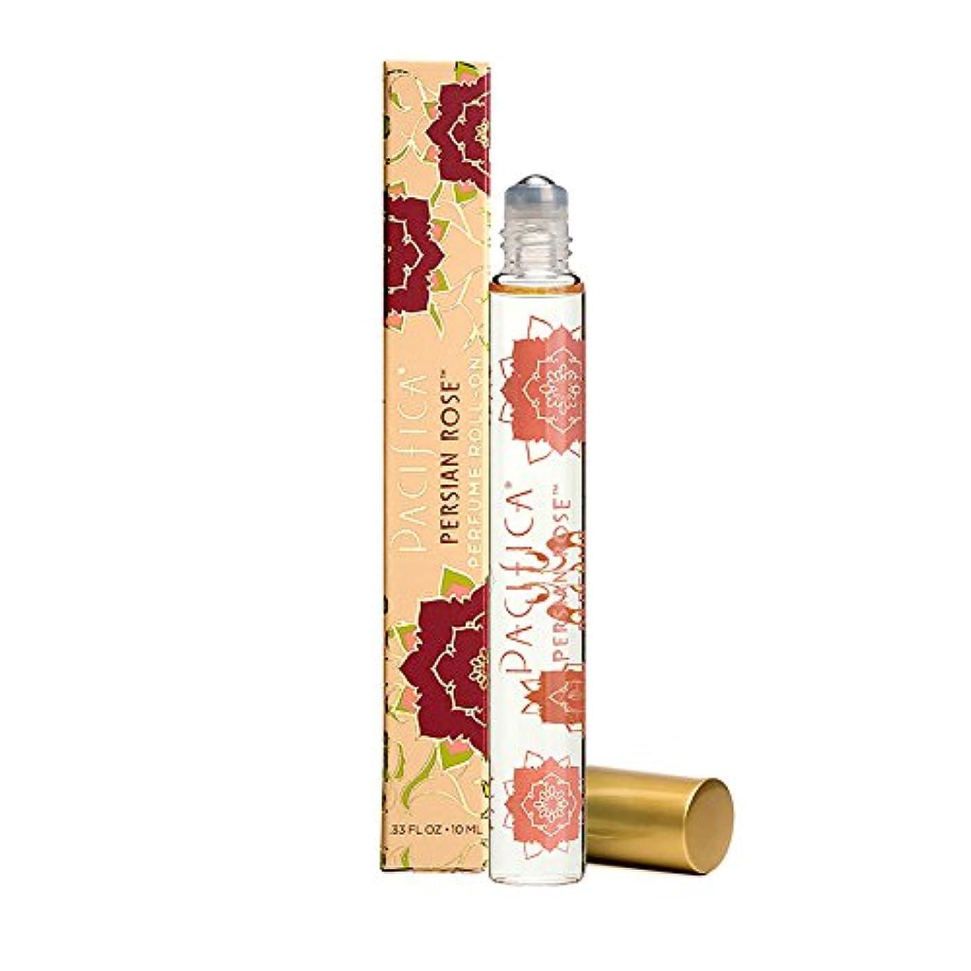 暴君交流する生まれPacifica ロールオンパフューム 100%ヴィーガン Beauty Perfume Roll-on Persian Rose