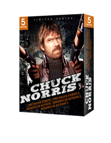 Chuck Norris 5 Movie Box Set (The Delta Force, Delta Force 2, Missing In Action, Missing in Action 2, Braddock: Missing