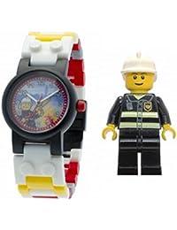 LEGO レゴ City シティ アラームクロック 時計 消防士