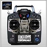 フタバ/ T10J プロポ(送信機 モード2/左スロットル仕様)ヘリ用 +受信機 セット(10ch-2.4GHz T-FHSS AIRモデル) 【026355】