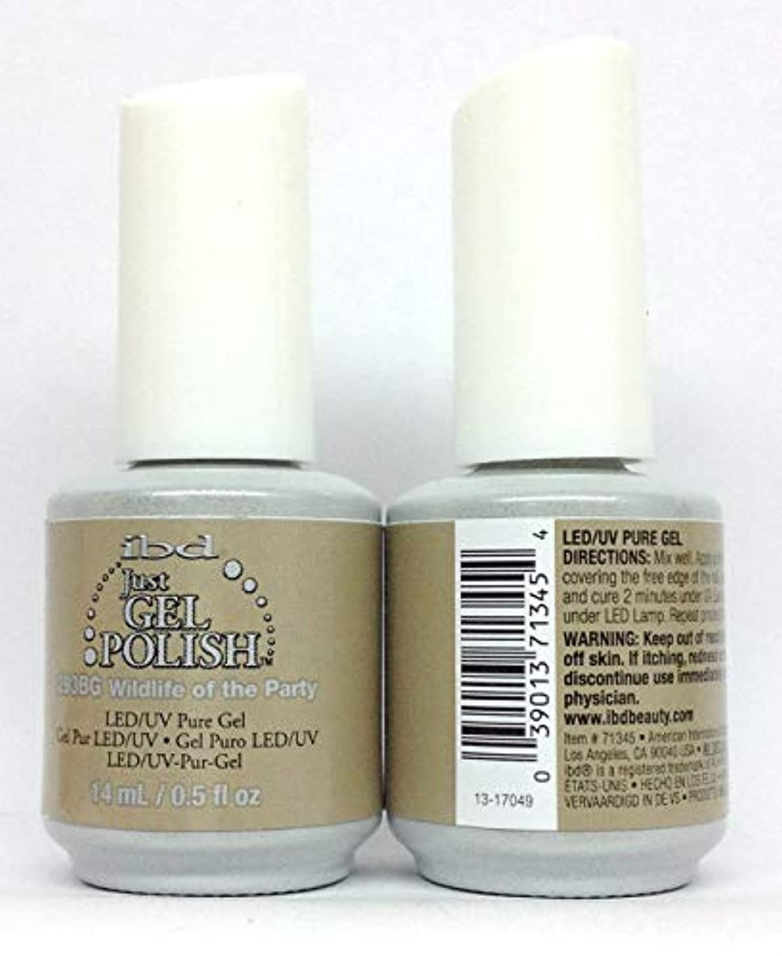 昇進診療所精通したibd Just Gel Polish - Serengeti Soul Collection - Wildlife Of The Party - 14ml / 0.5oz