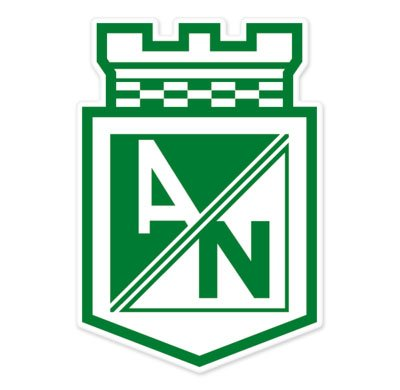 Club Atletico Nacional???Colombia Football Soccer Futbol???車ステッカー???6?