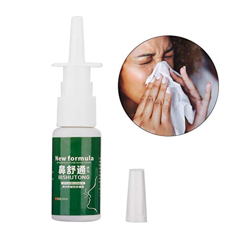 バッグサイズ保証する鼻アレルギー鼻炎スプレー、30ml鼻炎ハーブスプレー鼻アレルギーとかゆみ鼻炎のための漢方薬