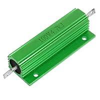 DealMux 100W 4.7KJグリーンアルミシェル巻線型収容され抵抗