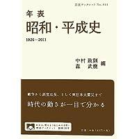 年表 昭和・平成史 1926-2011 (岩波ブックレット)