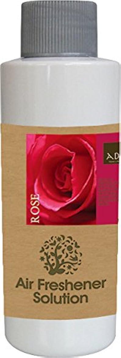 究極のドアミラー襟エアーフレッシュナー 芳香剤 アロマ ソリューション ローズ 120ml