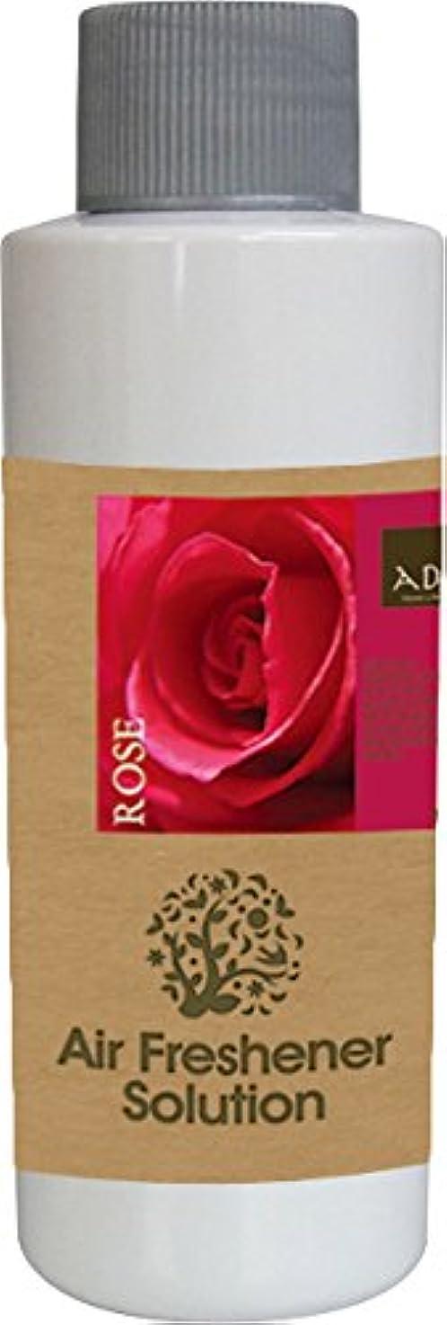バルク手書き異なるエアーフレッシュナー 芳香剤 アロマ ソリューション ローズ 120ml