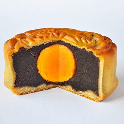 中秋節 月餅 蛋黄入豆沙 (たんおうげっぺい) 黒あん 横浜 中華街 聘珍樓