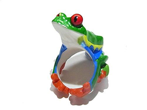 【CLING/クリング】アニマル リング アカメアマガエル【RELAX/リラックス】蛙 カエル かえる フロッグ 指輪 おもしろ 個性的 アクセサリー レディース メンズ