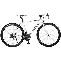 CANOVER(カノーバー) ロードバイク 700C シマノ21段変速 CAR-015(UARNOS) アルミフレーム フロントLEDライト付