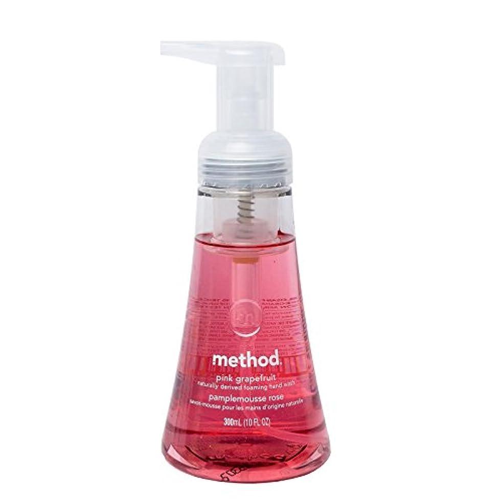 予防接種石油逃すメソッド ハンドソープ フォーミングタイプ ピンクグレープフルーツ