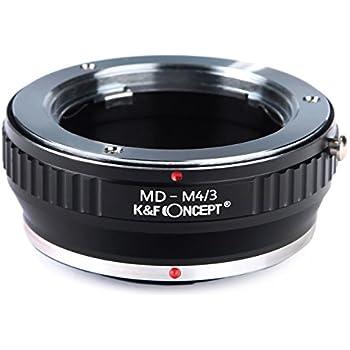 K&F Concept レンズマウントアダプター KF-SRM43 (ミノルタMD・MC│SRマウントレンズ → マイクロフォーサーズマウント変換)